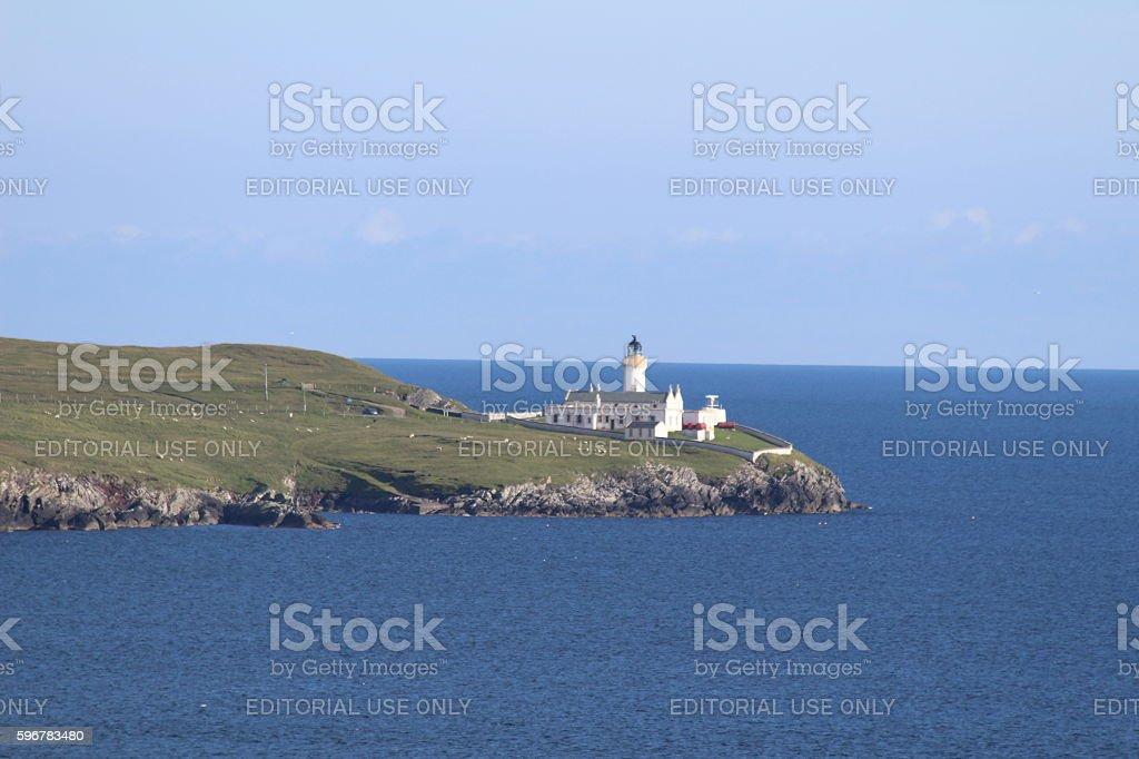 Bressay Lighthouse stock photo