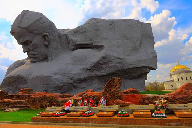 Brest Fortress Soviet War Memorial, Belarus stock photo