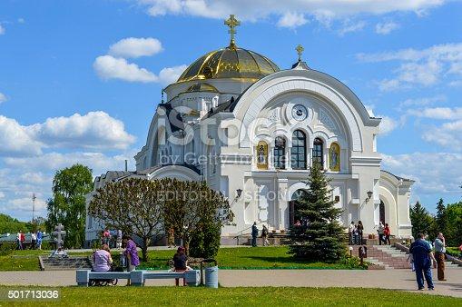istock Brest garrison cathedral of St Nicholas 501713036