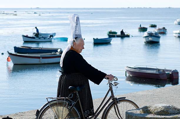 breton coiffe amérindienne - Photo