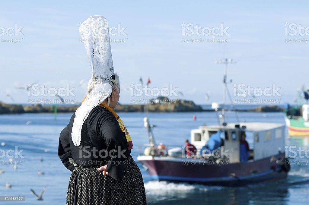 breton Frauen mit Kopfschmuck – Foto
