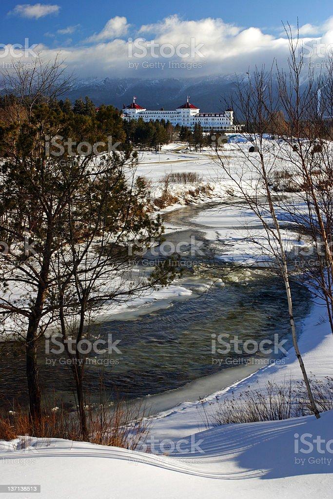 Bretton Woods, New Hampshire royalty-free stock photo
