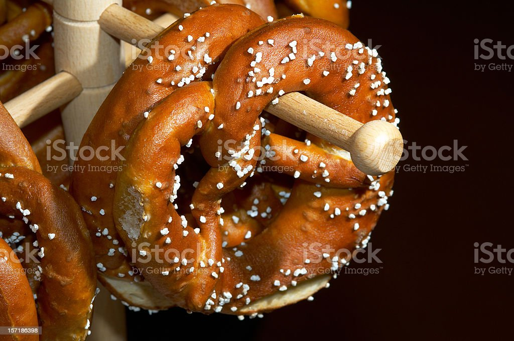 bretzels at octoberfest royalty-free stock photo