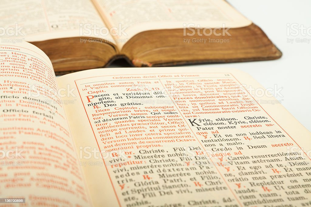 Breviary Stock Photo & More Pictures of Bible - iStock