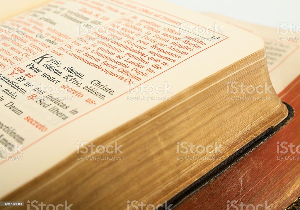 breviary stock photo