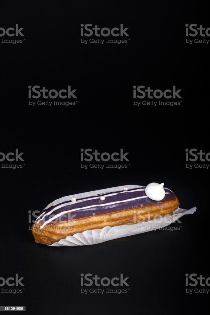 Gebrühter Kuchen Eclair – Foto
