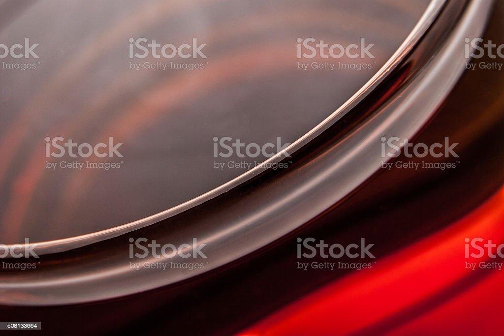 Tasse Tee in Glas-Tasse-Hintergrund Lizenzfreies stock-foto