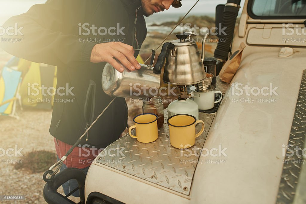 Brewed with care royalty-free stock photo