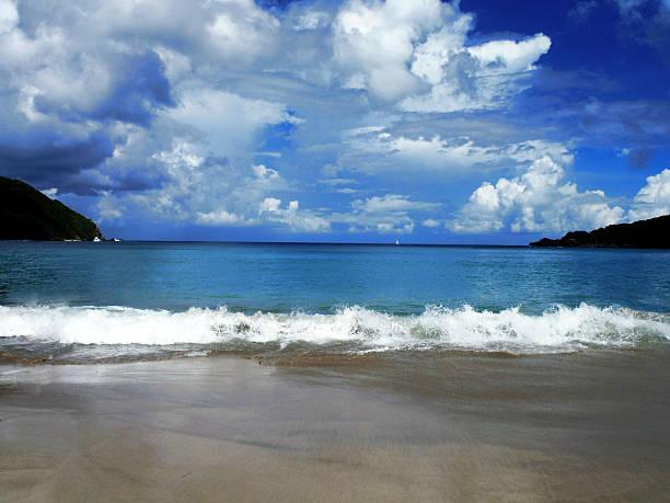 Brewer's Bay, Tortola BVI stock photo