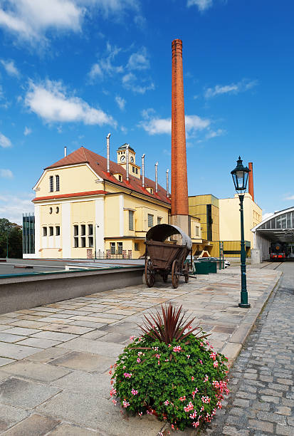 Brewery View of brewery Pilsner Urquell. Pilsen. Czech Republic bohemia czech republic stock pictures, royalty-free photos & images