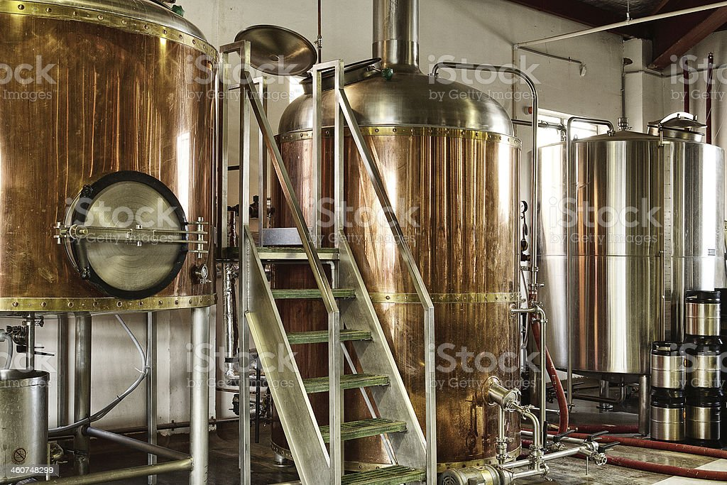 Brewery stock photo
