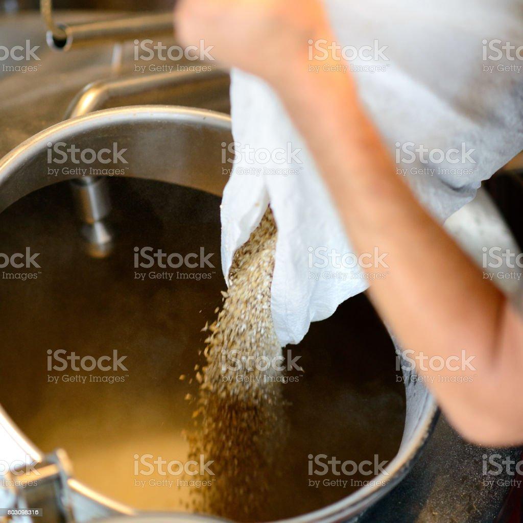 Brauen von Bier – Foto