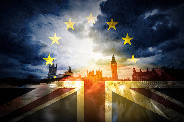 Brexit and the EU European Union stock photo