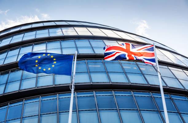 brexit konzept - freistaat stock-fotos und bilder