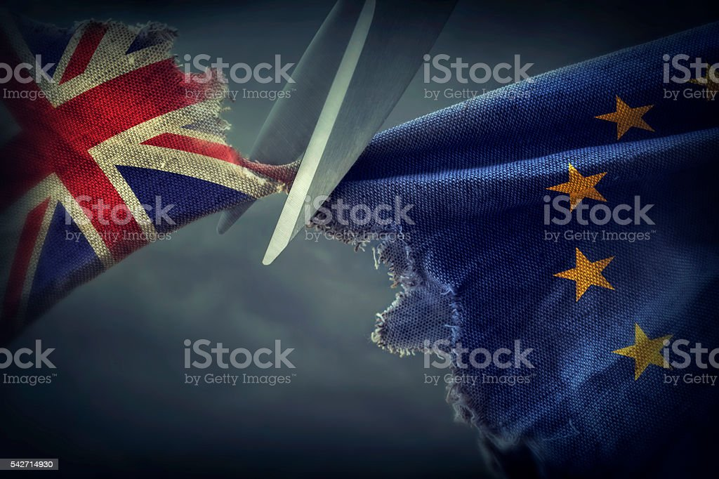 Brexit concepto - Foto de stock de Accidentes y desastres libre de derechos