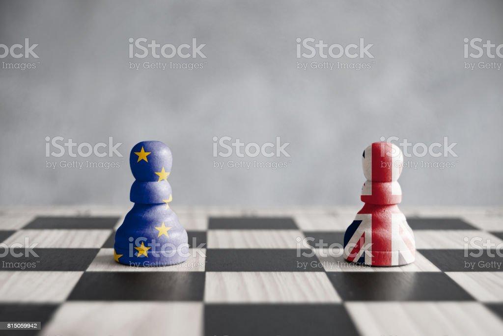 Brexit concept stock photo