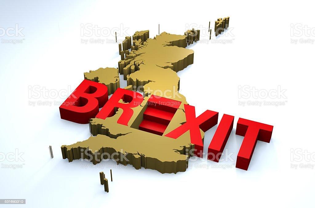 Brexit EU Great Britain stock photo