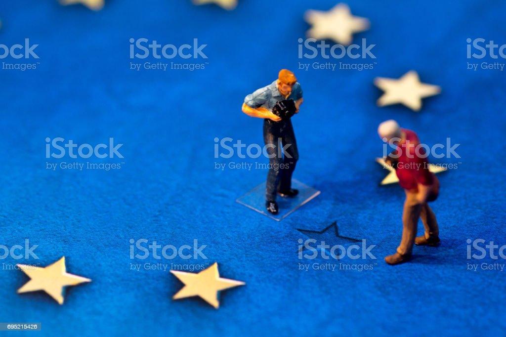 Brexit Media - foto stock