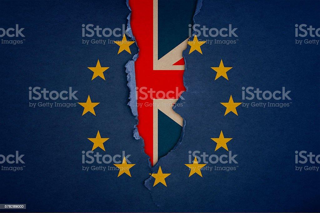 UK brexit - foto stock