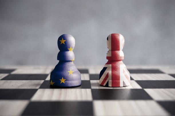 brexit strategiekonzept - britische politik stock-fotos und bilder