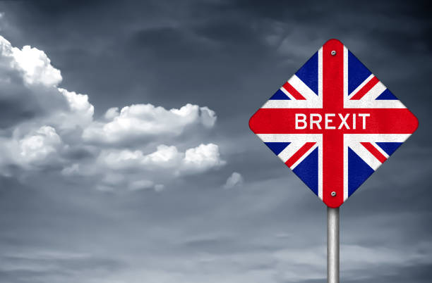Brexit - withdrawal United Kingdom from the European Union stock photo