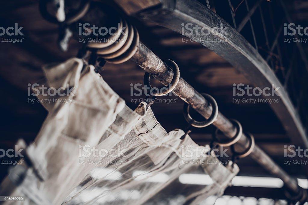 Brezza sulla Tenda stock photo