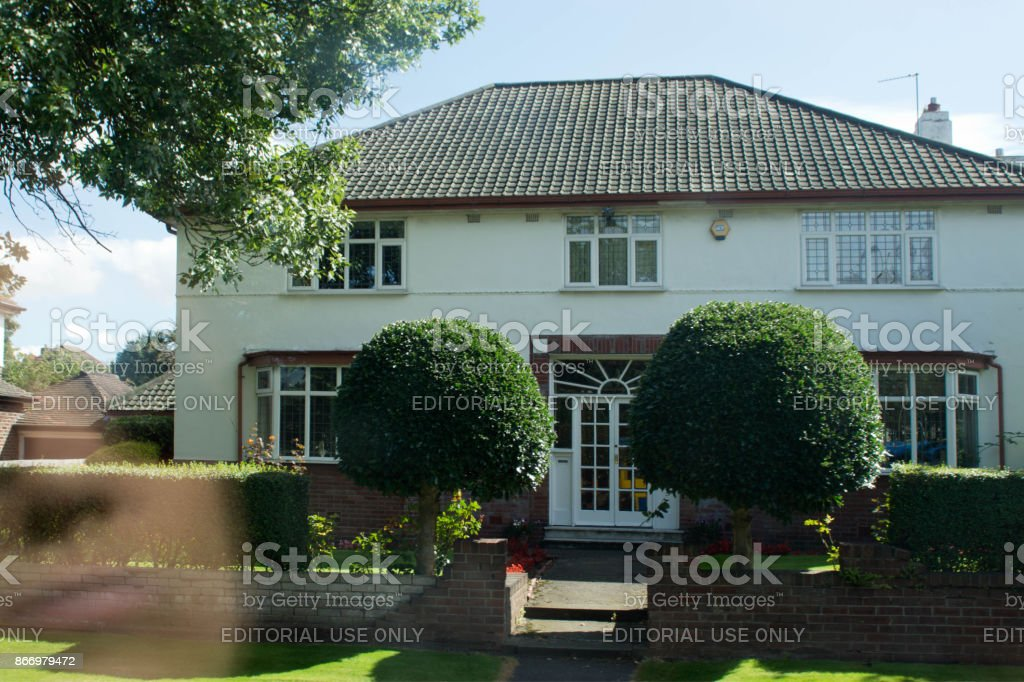 Brian Epstein's former house stock photo