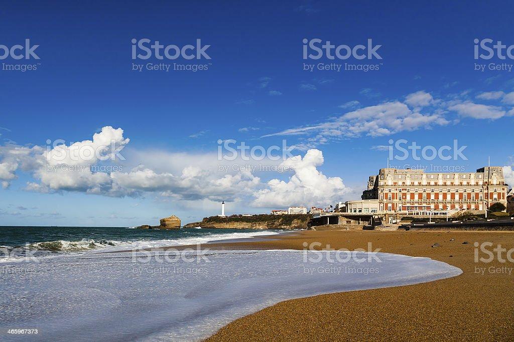 Briarritz superbe plage - Photo