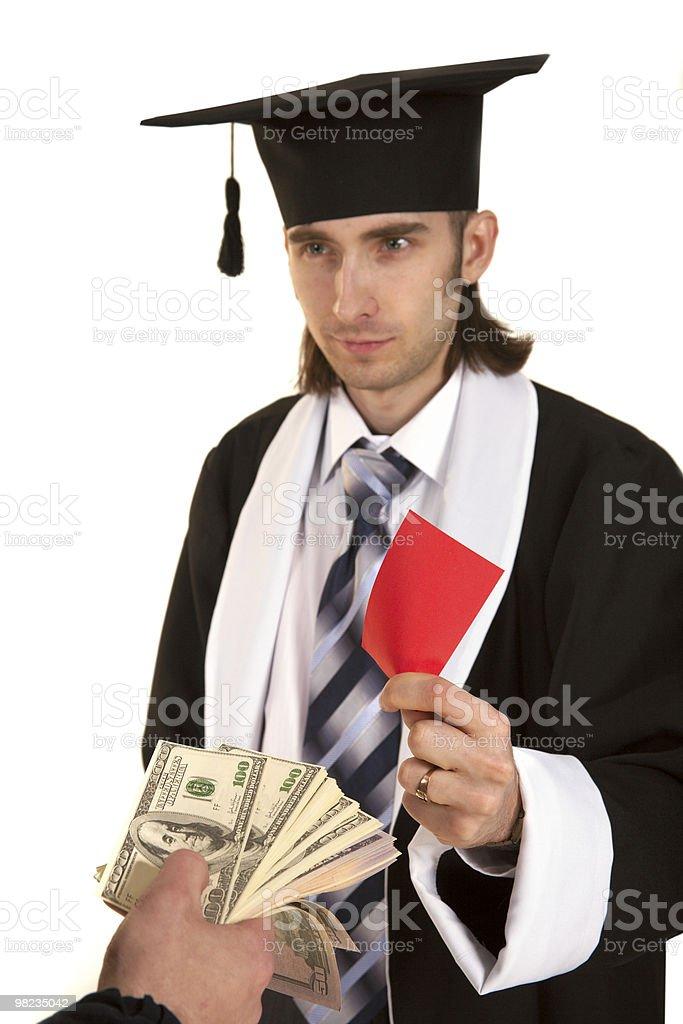 Bribe royalty-free stock photo