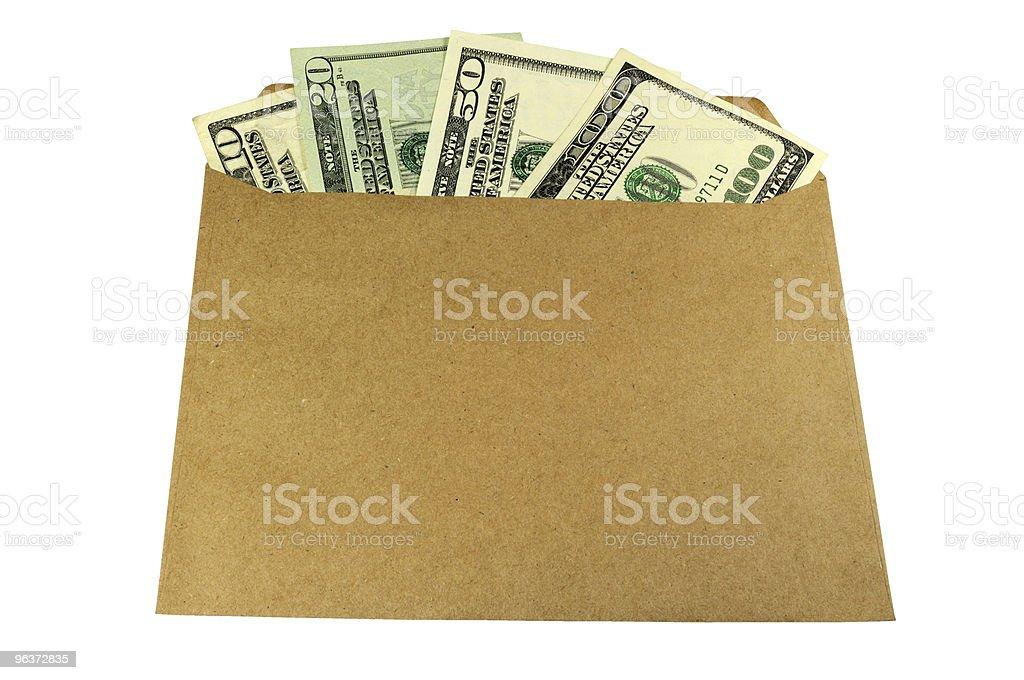 Bribe, salary, gift? stock photo