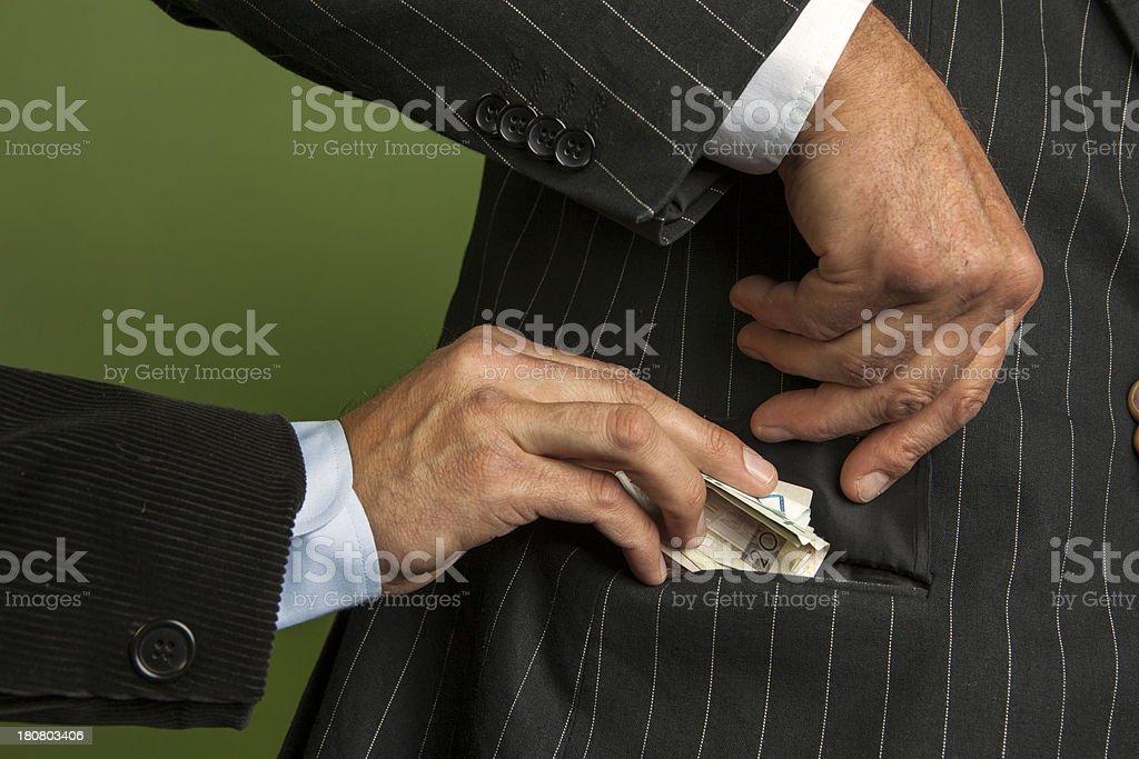 Briber royalty-free stock photo