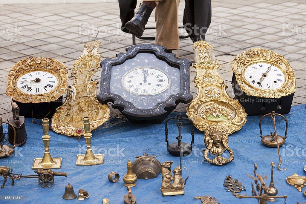 Bric a Brac Market royalty-free stock photo