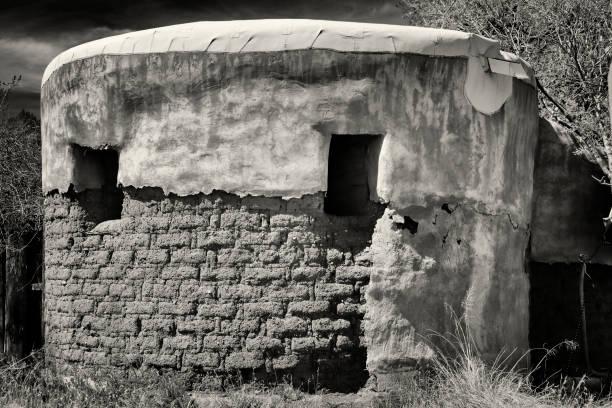 Ziegel- und Adobe-Ruinen – Foto