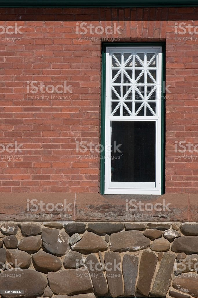 Brick and Stone Antique Structure stock photo