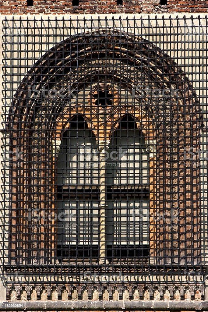 brick and window royalty-free stock photo
