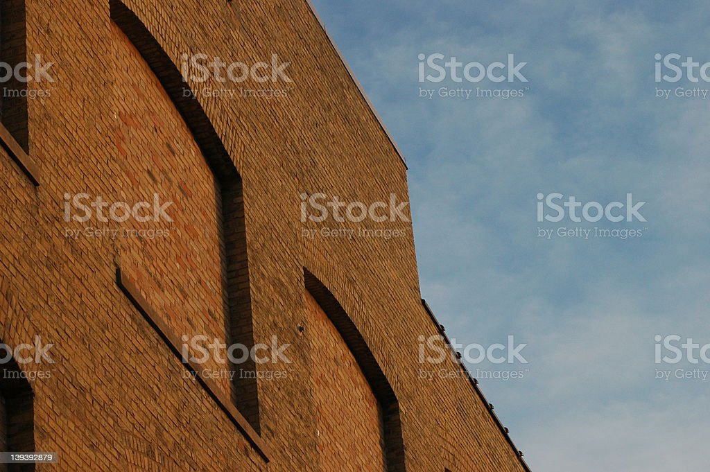 Brick Building royalty-free stock photo