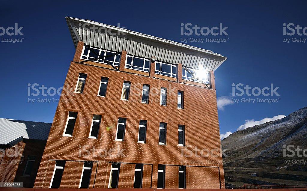 Brick Building royalty-free stock photo