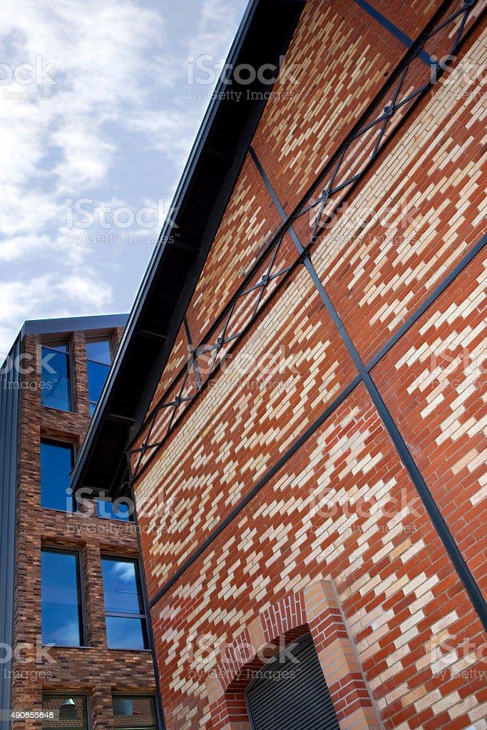 Les bâtiments en briques - Photo