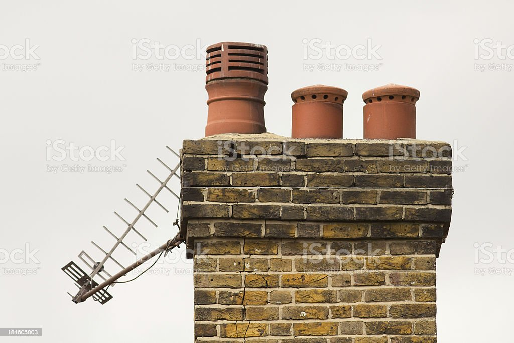 Brick Chimney royalty-free stock photo