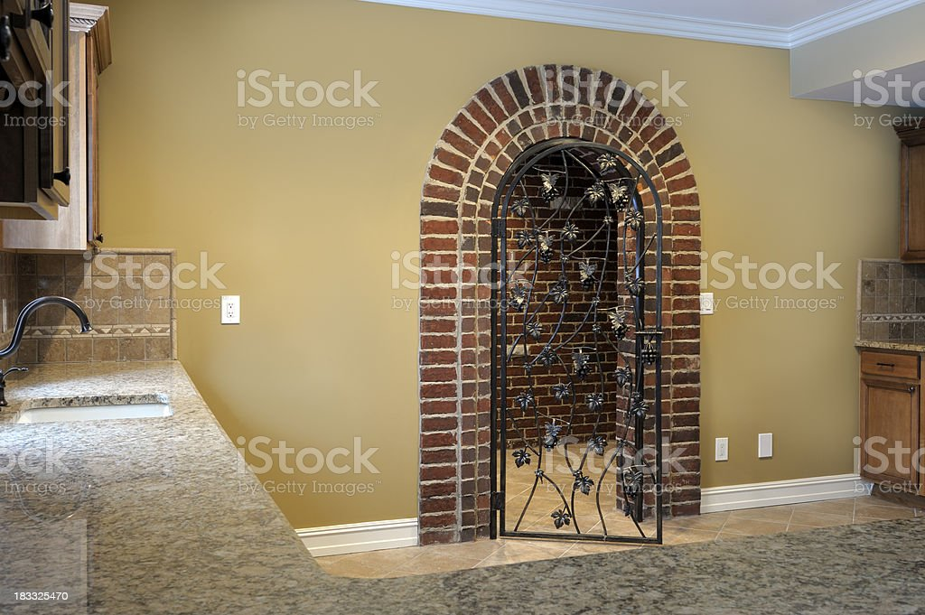 Brick Entrance To Wine Cellar Stock Photo Download Image Now Istock