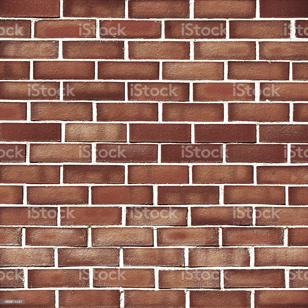 Brick grunge brown wall background royalty-free stock photo