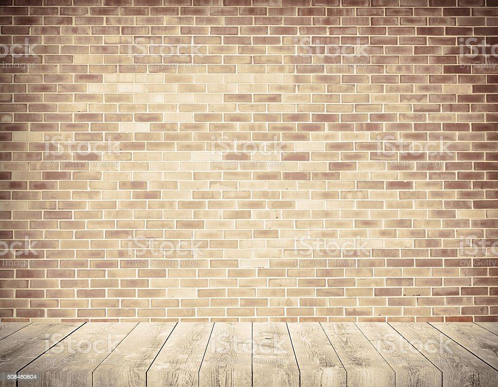 Etagere Sur Mur En Brique photo libre de droit de brique de grunge mur marron vieilli