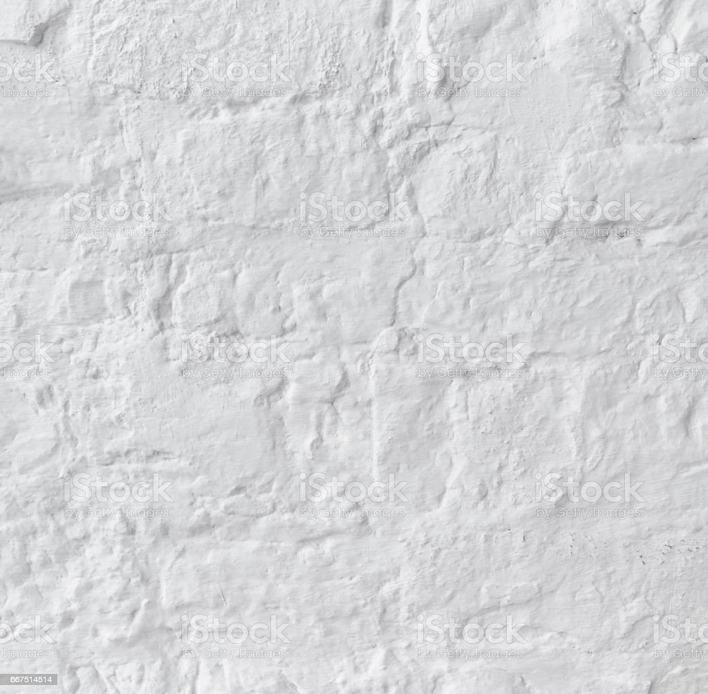 Brick grunge white old wall texture background foto stock royalty-free