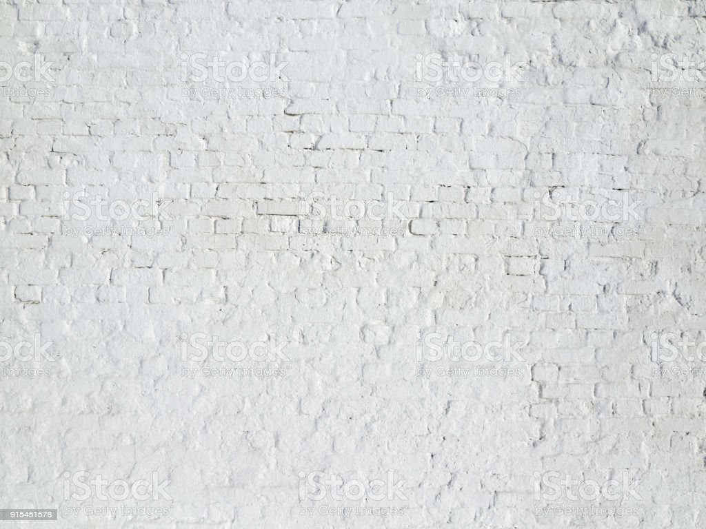 Brick Grunge White Red Old Wall Texture Background Royalty Free Stock Photo