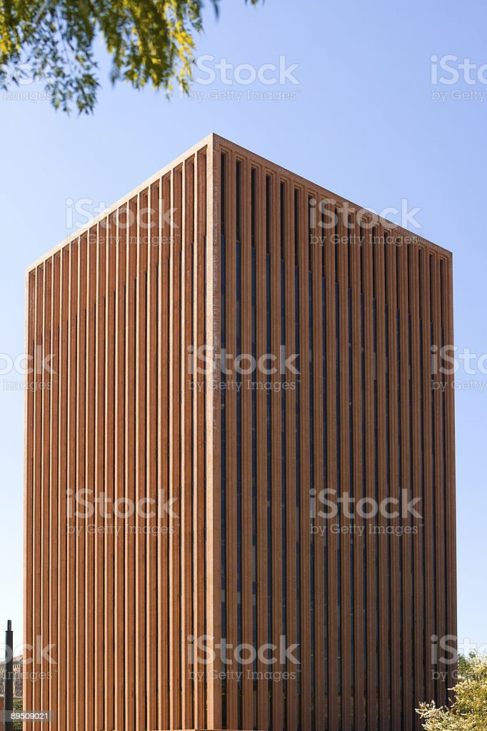 brick high-rise royalty-free stock photo