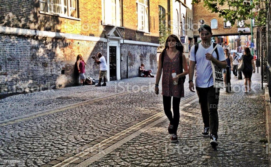 Brick Lane, London, UK stock photo