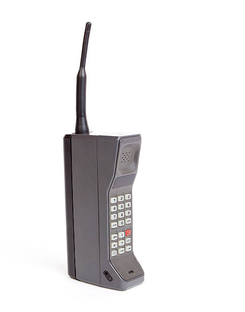 brick mobile phone - 1980s style stock photos and pictures