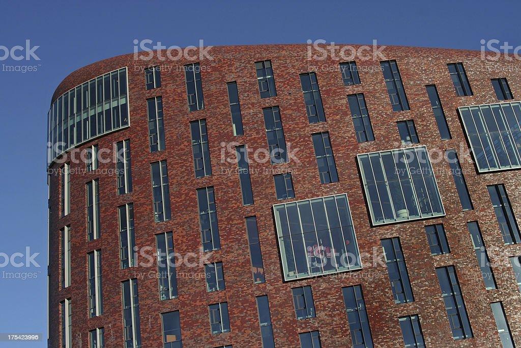 Brick Office Building royalty-free stock photo