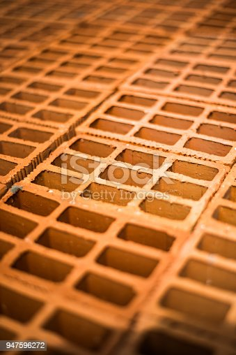 istock Brick one of the main building materials 947596272