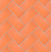Brick pavement seamless texture - very high resolution image